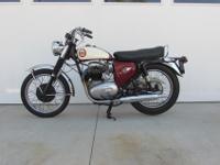 1964 BSA Lightning Rocket, nice initial condition,