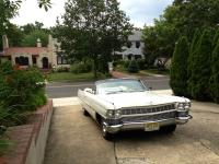 1964 Cadillac deVille Convertible:    White/White with