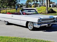 1964 Cadillac deVille Convertible ..33,000 Original