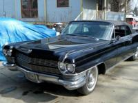 1964 Cadillac Eldorado Convertible ..Triple Black