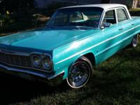 1964 Chevrolet Belair. Classic/Antique. NEW motor. New