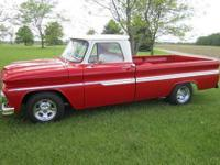 This is a 2009 frame off restoration on a 1964 C10,