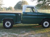 1964 Chevy C10 SWB, step side restored truck. Runs and