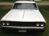 1964 Chevrolet Chevelle 2 door car. This Chevelle is a