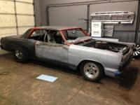 64 CHEVY CHEVELLE Malibu pro street. THIS IS IT if your