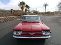 The Corvair has received a nice freshen up and