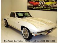 1964 Corvette Coupe, 327-300 hp, 4 speed, numbers match