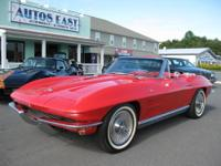 Great looking, running & driving Corvette convertible