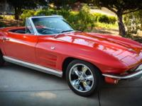 This 1964 Corvette Stingray Roadster...Runs And Drives