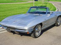 Here is a beautiful 1964 Chevrolet Corvette. Finished