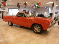 This is a beautiful 1964 Chevrolet El Camino that has