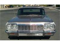 For is a 1964 Chevy Impala SS. This car has been