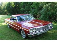 A very nice 1964 Chevrolet Impala two door hardtop. It
