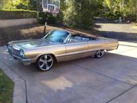 Extremely good 1964 Impala Convertible. Recovered with