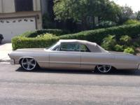 Extremely good 1964 Impala Convertible. Brought back