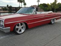 Original 1964 Impala Convertible.  -With late model
