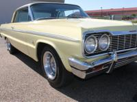 1964 CHEVROLET IMPALA SS This 1964 Impala is a true