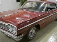 1964 Impala SS 2dr Sport Coupe.  -It has the 327/300 HP