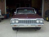 This is the SS Impala 64 highly demanded in the custom