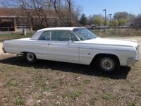 1964 Impala SS hardtop. 55,750 miles. Light blue