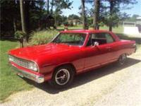 1964 Chevy Malibu 454, Power Steering, Power Brakes,