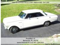 1964 Chevrolet Nova 32,000 Address:  Sarasota, FL