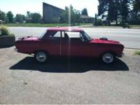 1964 Chevrolet Nova High Performance 1964 Chevy Nova.