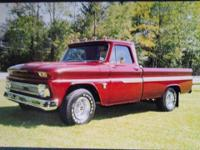 1964 Chevy C-10 (PA) - $27,500 Exterior: Sunset Red