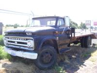 1964 Chevy Farm Truck 8 Foot wide 14 Foot Flat Bed
