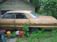 I have for sale a 64 Impala for parts good back axial,