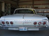 64 chevy impala hardtop two door. No damage history.