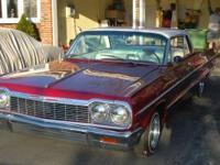 1964 chevy impala with 16 swiches fully restored from