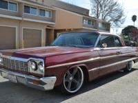 I am selling my 1964 Chevy Impala. Clean tittle, 8