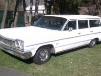 64 Belair Wagon Rebuilt 327 Powerglide Runs excellent