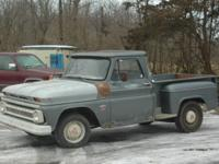 solid southern 1964 chevy 1/2 short box step side,,