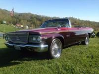 1964 Chrysler Newport Convertible (KY) - $13,900 Black