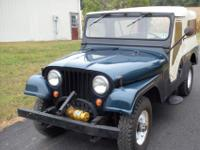 Unbelievably original 1964 CJ6 with 5,092 original