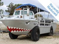 This military grade General Dynamics Amphibious Vehicle