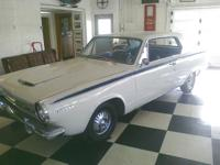 Here is a 1964 Dodge Dart GT. This was the premium Dart