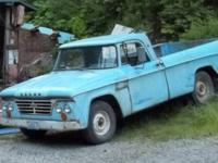 1964 Dodge Truck, 8 Cyl. 318 Cubic inch engine.