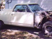 1964 El Camino Project Car Body has been professionally