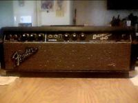 1964 blackface fender bassman head very good cond. NL