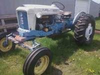 1964 Ford 4000 Tractor with Select-o-speed Trans