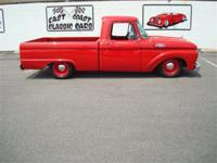Stk#046 1964 Ford F100 Shortbed Custom Cab Exterior: