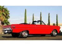 1964 FORD FALCON CONVERTIBLE, 289 V8 AUTO TRANS, POWER