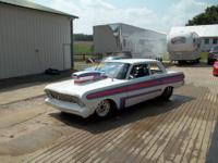 1964 Ford Falcon with a 460/60 over. Aluminum heads