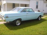 I have a 1964 Ford Falcon, Totally done up. Its