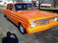 You are looking at a 1964 ford falcon sprint pro street