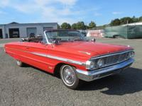 This 1964 Ford Galaxy 500XL Convertible is all original