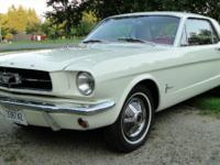 This a low mileage 1964  Mustang. Restored to its